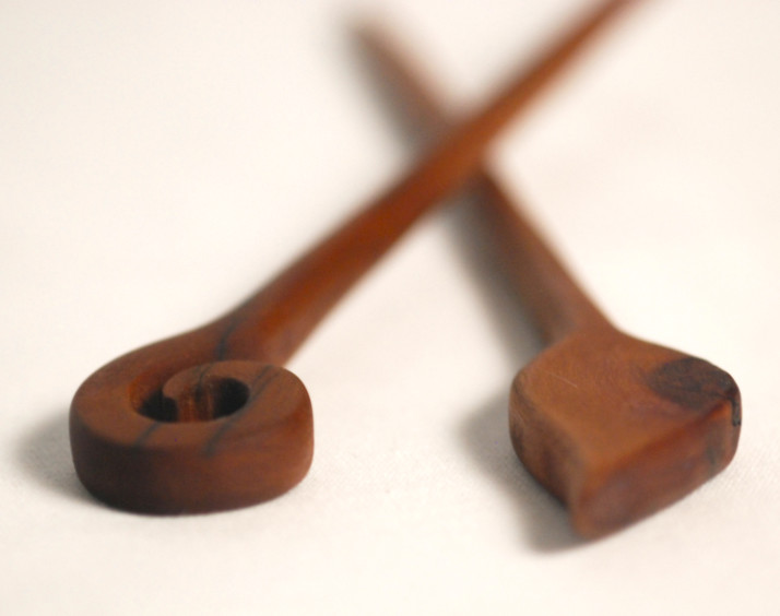 Wooden Hairpins